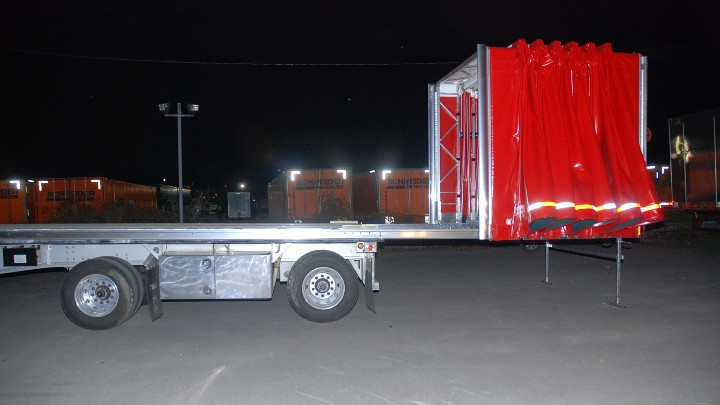 Flatbed Rolling Tarp Systems Chameleon Innovations