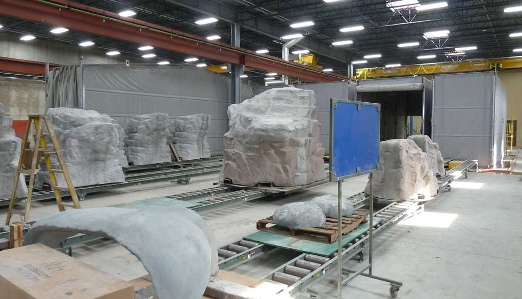 Chameleon Retractable Enclosures For Precast Curing Amp Production