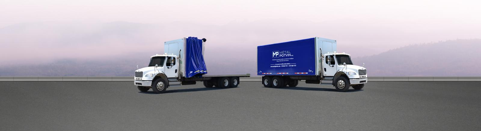 Straight Truck Rolling Tarp Systems Chameleon Innovations